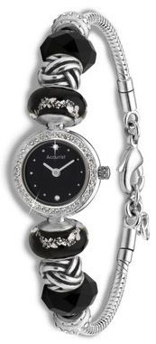 Ladies Charmed Beaded Watch