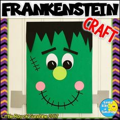 This not-so-spooky Frankenstein Craft is perfect for your Halloween themes, as an addition to your favorite fall or Halloween stories or simply as a decoration. All templates needed to make this craft are included. Simply copy onto colored paper or use th Halloween Arts And Crafts, Halloween Stories, Cute Halloween Costumes, Halloween Activities, Halloween Kids, Halloween Themes, Fall Crafts, Halloween Party, Preschool Halloween