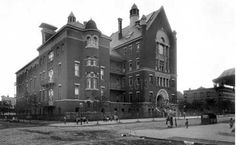 The old Wyckoff Heights Hospital on St. Nicholas Avenue in Ridgewood. Was called The German Hospital when first built in the late 1800's, then name changed after the war.