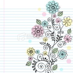 http://www.istockphoto.com/stock-illustration-12475136-hand-drawn-sketchy-doodle-flowers-and-vines.php