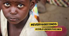 #Every6seconds a child under five dies. Most of these deaths are entirely preventable. We could save millions of lives by providing illiterate mothers with accessible health education.