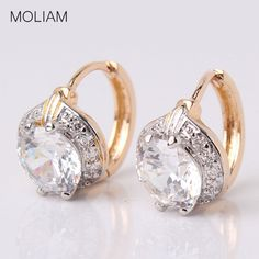 Pataya New Snow Blue Triangle Earrings Women Wedding Fashion Unique Jewelry 585 Rose Gold Cubic Zircon Dangle Earrings 11 Colors Warm And Windproof Furniture