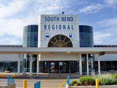 South Bend, Indiana Airport.     Satan's playground.