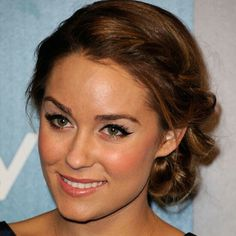 Lauren Conrad - braided updo