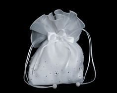 Holy Communion Diamante Cross Dolly Bag// Very Bling