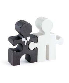 puzzle piece cake topper