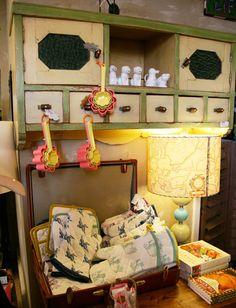 Kitchen in a Gypsy Wagon