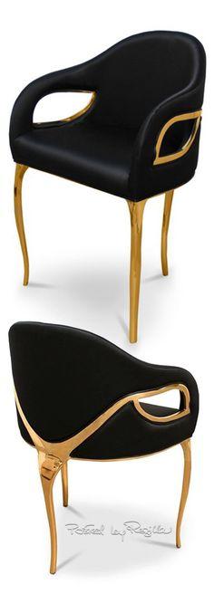 Regilla ⚜ Chandra Dining Chair by Koket