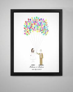 A new product to Fingerprint Tree Have your fingerprint kit feature YOU Working from your photos Claire will create a caricature of the happy couple