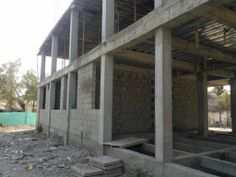 Edificio el trébol en construcción  (Santiago de Tolu)