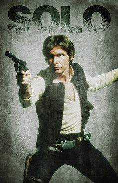Han Solo... Star Wars Character 11x17 Poster Print