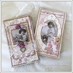 Mariannes papirverden.: To små bøker - Pion Design