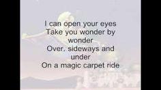 From Disney's Aladdin Disney Movie Quotes, Disney Movies, Magic Carpet, Aladdin, Cards Against Humanity, Disney Films
