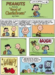 Peanuts for 9/28/2014 | Peanuts | Comics | ArcaMax Publishing. Great parable on the attitude of Liberal Logic toward US citizens.