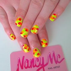 Neon camouflage