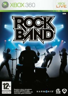 Rock Band - Game Only (Xbox 360): Rock Band: Amazon.co.uk: PC & Video Games
