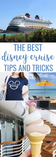 The best Disney cruise tips and tricks! Tons of info about the food, activities,… The best Disney cruise tips and tricks! Tons of info about the food, activities, shows and Castaway Cay! Best Cruise, Cruise Tips, Cruise Travel, Cruise Vacation, Disney Vacations, Bahamas Cruise, Vacation Trips, Vacation Ideas, Vacation Travel