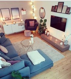 Happy Monday everyone! Gorgeous living room by . Elegant Home Decor, Budget Home Decorating, Home Improvement Loans, Decorating Your Home, Elegant Homes, Home Values, Home Decor, Home Improvement, Furniture
