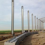 Hala Metalica Bulbucata - Hala Depozitare Cereale | duna-steel.ro Wind Turbine, Metal, Dune