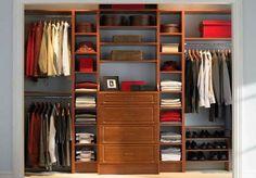Diy closet organizer ikea closet organizers closet system clothes organizer clothes storage closet master closet design reach in closet closet organizers Reach In Closet, Walk In Closet Design, Wardrobe Design, Closet Designs, Closet Space, Bedroom Wardrobe, Wardrobe Closet, Master Closet, Wooden Wardrobe
