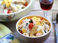 Siete recetas de ensaladas de arroz ¡Apuntalas!  http://paraadelgazar.ws/siete-recetas-de-ensaladas-de-arroz/ Salud y Bienestar