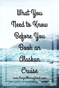What You Need to Know before you book an Alaskan Cruise - Lucy Williams Global Cruising Alaska is a wonderful experience, here are some tips on what you need to know before you book an Alaskan Cruise from what cabin to book to tours Packing For A Cruise, Cruise Travel, Cruise Vacation, Travel Usa, Travel Tips, Travel Ideas, Travel Advice, Vacation Ideas, Honeymoon Cruises