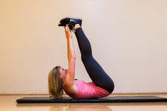 Lower Abs: Double Crunch
