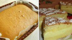 INGREDIENTE: 4 ouă; 2 pahare de lapte (cald); 1 pahar de apă; 1 pahar de zahăr; 115 gr de făină; 125 gr de unt; 1 linguriță de vanilie. MOD DE