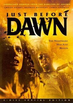 JUST BEFORE DAWN DVD (SHRIEK SHOW)