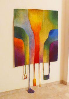 Multicolor handgemaakte tapijt Home decor muur tapijt door lenats
