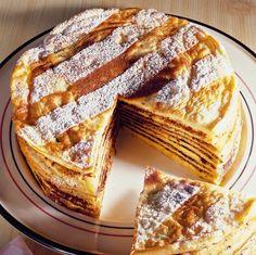 Îţi plac clătitele, dar ţi se par un desert banal? Pregăteşte un tort de clătite după această reţetă uşoară. Are un gust delicios de clătite, dar aspectul este deosebit. 1. Pentru clatite, se amesteca ingredientele pâna se obine un aluat omogen. Din acestea se coc clatite cât mai subiri posibil. Se lasa sa se raceasca. …