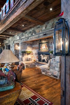 Modern-rustic barn structure offers an incredible retreat in Utah Mountains #fireplace #stone #builtin #seat #nook #rustic #barn Retreat, Maine House, Rustic Barn, Ranch House, Barn, Home On The Range, Modern, Modern Rustic, Modern Barn