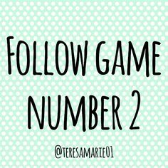 FOLLOW GAME!!!!  Part 2 ?? SEE PART 3 FOLLOW??LIKE??TAG??SHARE Other