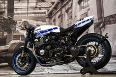 "Yamaha XJR 1300 Cafe Racer ""Ronin"" by Motorrad Klein GmbH #motorcycles #caferacer #motos 