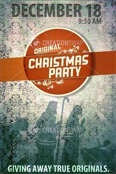 Christmas Series: Original Xmas Party Poster