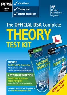 awesome       £13.60  Get ready to pass your theory test first time with the best-selling theory test DVD-ROM - the ONLY official software revision ...  Check more at http://fisheyepix.co.uk/shop/the-official-dsa-complete-theory-test-kit-2013-pcmac/