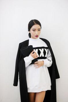 • Model ulzzang korean stylenanda jung min hee korean model Jung MinHee o-minimalismo •