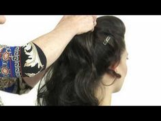 WOW Pony Fall by Daisy Fuentes. How to apply a clip on ponytail, pocket pony, ponytail extension - YouTube