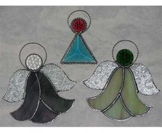 stained glass ornaments | Stained Glass Patterns Christmas Ornaments | Ornaments | Custom
