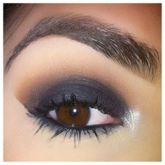 Simply Smokey, night out makeup