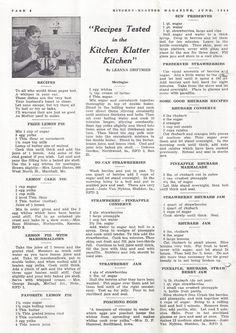 Click image to close this window Retro Recipes, Old Recipes, Vintage Recipes, Cookbook Recipes, Cooking Recipes, Homemade Cookbook, Cookbook Ideas, Frugal Recipes, Disney Recipes