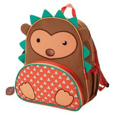 Skip Hop Zoo Backpack - Hedgehog $21 at Target. soo cute