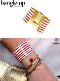Marianne, bracelet manchette Bollychic. Oui, ce bijou de chez Bangle up est un accessoire aux origines indiennes, mais avec une belle touche française. Vous en pensez quoi?