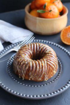 Honey Mandarin Orange Butter Cake