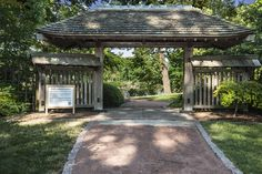 Japanese Garden Design: First Gate (photo By Bill F. Eger) ~ Design Inspiration