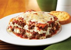 Lasagna made with Johnsonville Italian All Natural Ground Sausage