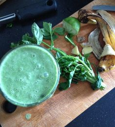 Basilica Spinach Smoothie