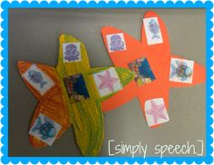 Rainbow Fish character and setting activity speech. Speech Language Pathology, Speech And Language, Language Arts, Act Book, Character And Setting, Rainbow Fish, Story Elements, Daycare Crafts, Readers Workshop