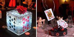 centro de mesa para 15 años de casino las vegas (5)