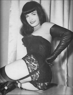 Oh how I love Bettie Page!